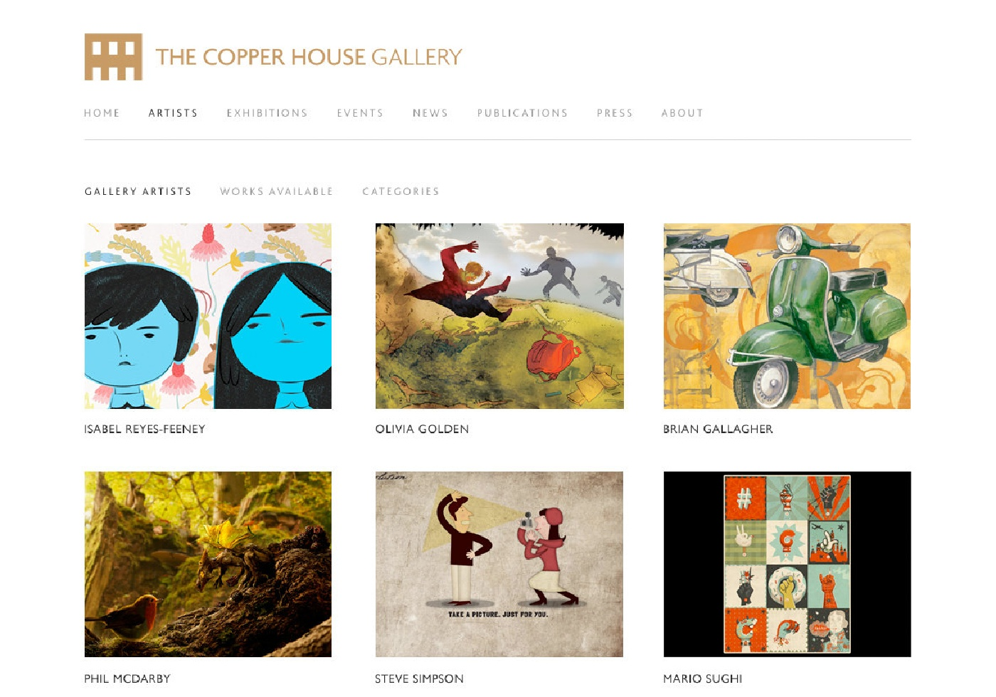 The Copper House Gallery